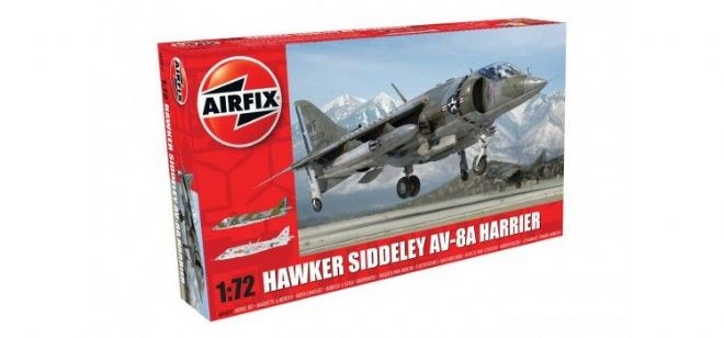 Hawker Siddeley Harrier AV-8A 1:72